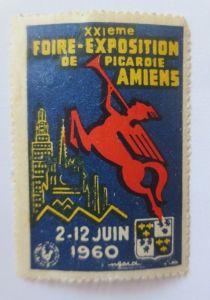 Vignetten, Foire-Exposition de Picaroie Amiens Frankreich 1960   ♥ (21316)