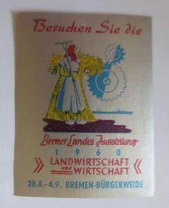 Vignetten, Bremer Landes Ausstellung Bremen Bürgerweide  1960   ♥ (23555)