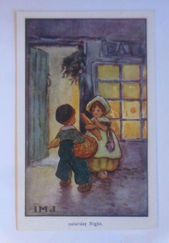 Kinder, Mode, Weihnachten, Brot, Saturday Night, 1909,   Munk Vienne ♥ (70582)
