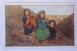 Kaufmannsbilder, Schokolade Gartmann, Serie 146, Bild 5.  ♥ (70581)