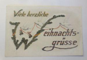 Weihnachten, Glocken Tauben, Tannenzweige,   1915 ♥  (51727)