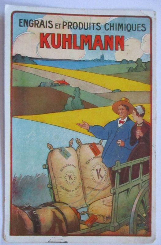 Reklame Werbung, Kuhlmann Landwirtschaft  1930 aus Bayon (54029)