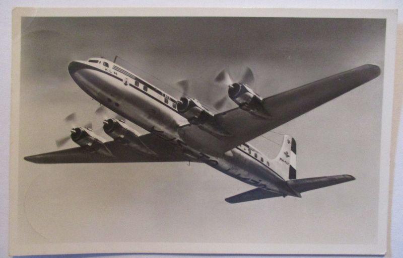 Flugzeug Douglas DC 6 B, KLM 1952 (32728)