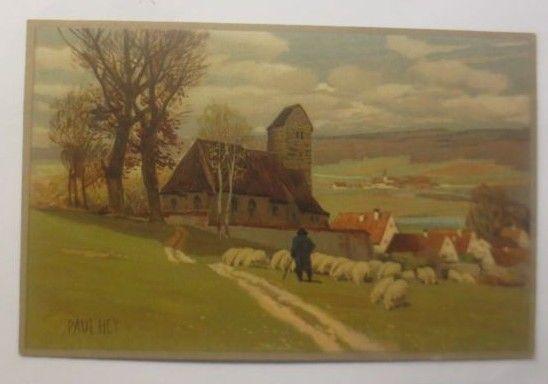 Paul Hey,  Frühlings Erwachen,  Meissner & Buch, 1910 ♥   (70755)