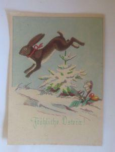 Ostern, Winterlandschaft, Hase, Ostereier,  1940, Hanns Müllner ♥ (70831)