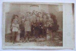 Studentika, Junge Studenten, Fotokarte ca. 1900 (6511)