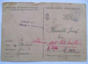 Ungarn, Feldpost 1944 (6520)