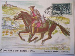 Frankreich, Maximumkarte von 1964, Tag der Briefmarke (21573)
