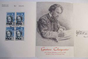Frankreich, Gustave Charpentier, Folder 1956 (44540)