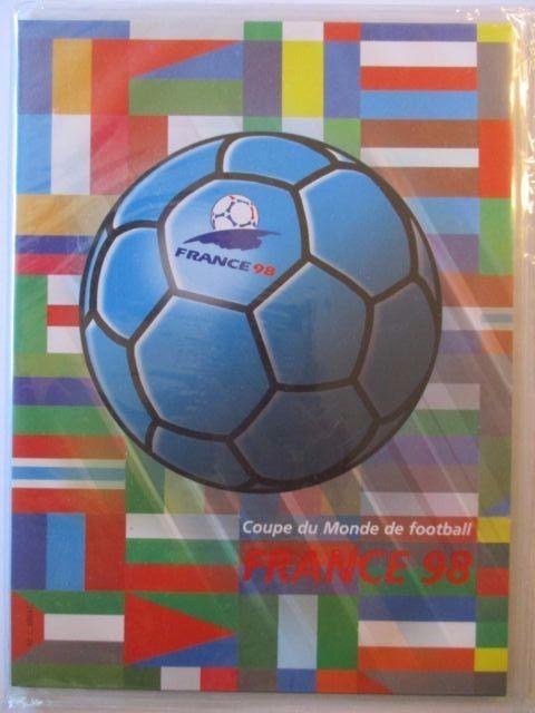 Frankreich, Fußball WM 1998, France 98 Coupe Monde Football, kpl. xx Folder OVP