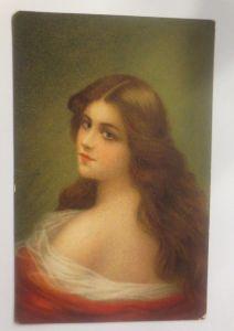 Künstlerkarte, Frauen, Mode, Erotik, 1909, Beautiful Heads Serie Nr.5463♥(70935)