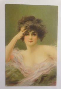 Künstlerkarte, Frauen, Mode, Erotik, 1910, Frederique Vollet, Bisson ♥(70934)