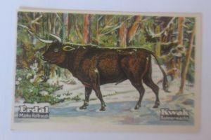 Erdal,  Kwak Bohnerwachs, Serie 29. Bild 4, Tiere des Diluviums  ♥   (70847)