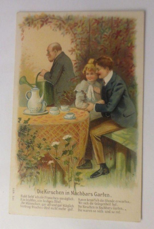 Frauen, Männer, Liebe, 1905,   Prägekarte    ♥ (70679)