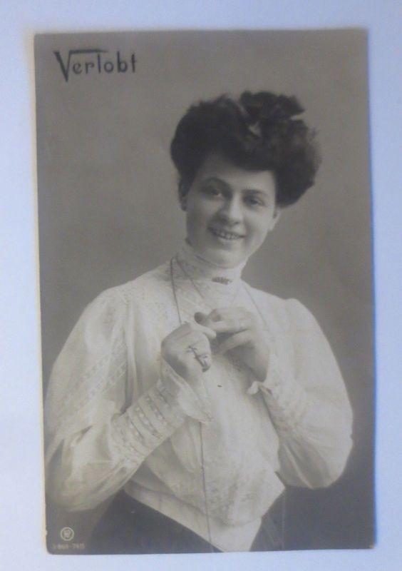 Verlobt, Frauen, Mode, 1906  ♥ (80136)
