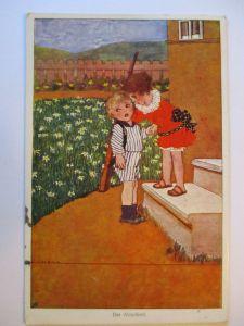 Kinder WW 1, Der Abschied Susi Singer Österreich 1915 .. (7463)