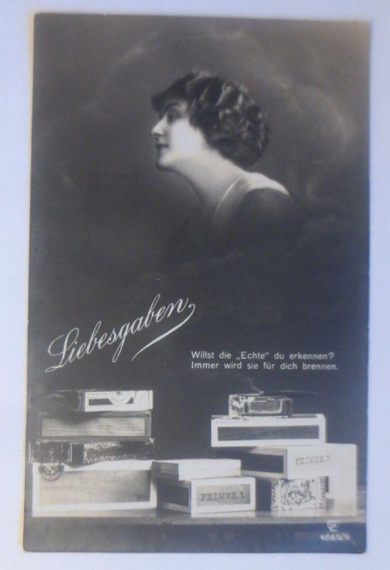 Liebesgaben, Werbung, Reklame, Primera, Zigarren, Frauen, Mode, 1915  ♥ (80134)