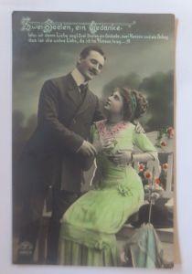 Frauen, Männer, Mode, Zwei Seelen, ein Gedanke,   1908 ♥ (80179)