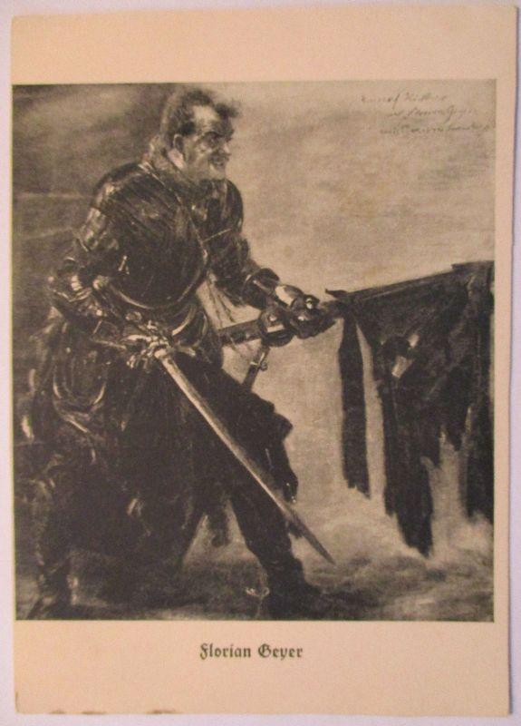 Bauernkriege, Schwarzer Haufen, Ritter Florian Geyer (Lovis Corinth) (8762)