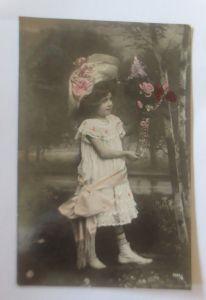 Geburtstag, Kinder, Mode, Blumen,    1906 ♥ (80172)