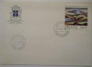 Island Jon Stefansson 1978 FDC (21854)