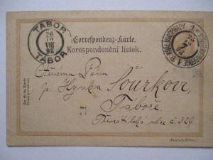 Österreich, Ganzsache (Text Deutsch-Böhmen) Kgl. Weinberge 1898 (6281)