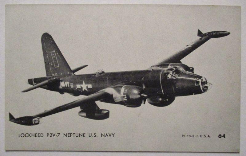 Flugzeuge USA, Mutoscope Card ca.50er Jahr, Lockheed P2V 7 (43869)