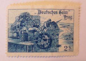 Vignetten, Deutsches Heim Prag ♥ (66020)