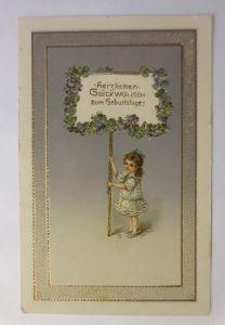 Geburtstag, Kinder, Mode, Blumen, 1908 ♥ (71285)