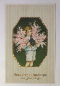 Geburtstag, Kinder, Mode, Blumen, 1915 ♥ (71284)