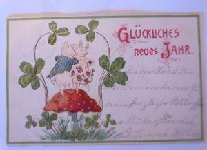 Montenegro Ganzsache 1896 ungebraucht (71126)