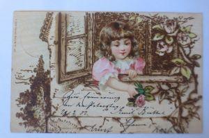Kinder, Mode, Rose, Fenster,  1902  ♥ (71234)