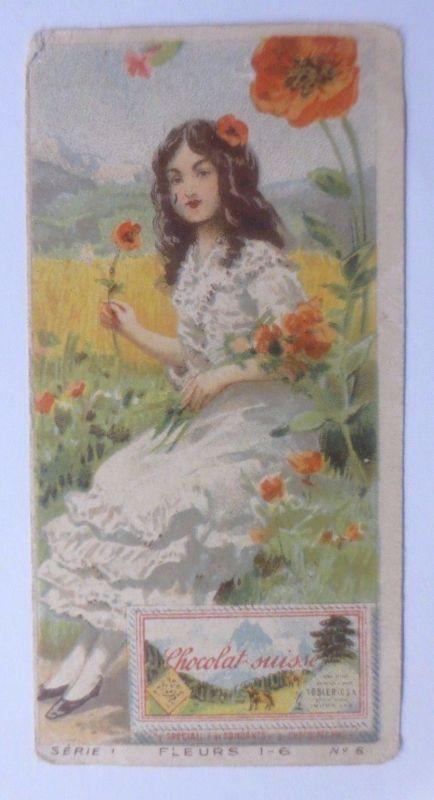 Kaufmannsbilder, Chocolat Tobler, Frauen, Mode, Serie 1,    1900 ♥ (61418)