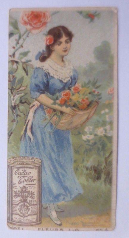 Kaufmannsbilder, Chocolat Tobler, Frauen, Mode, Serie 1,    1900 ♥ (61416)