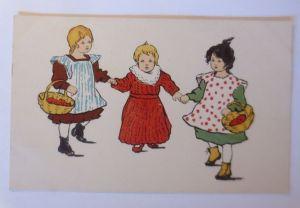 Kinder, Mode, Korb,   1908  ♥ (71223)