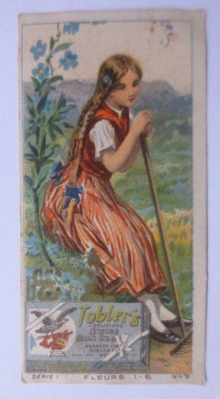 Kaufmannsbilder, Chocolat Tobler, Frauen, Mode, Serie 1    1900 ♥ (61414)