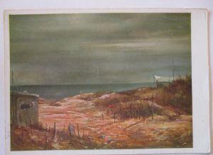 WW 2, Englischer Bunker an der Kanalküste, Das Bild des Krieges (936)