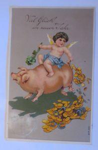 Künstlerkarte, Ostern, Kinder, Küken,  1920, Vienne Munk ♥  (71184)