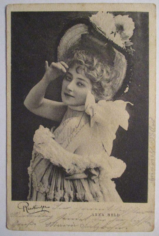 Schauspielerin Anna Held, 1901 nach Moosham (28748)