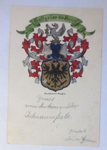 Gott Grüß die Kunst, Buchdrucker Wappen, Studentiker   1903 ♥  (54768)