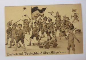 Neujahr, Schwein, Schornsteinfeger, Pilze, Kleeblatt,1933, Serie Erika ♥ (52004)