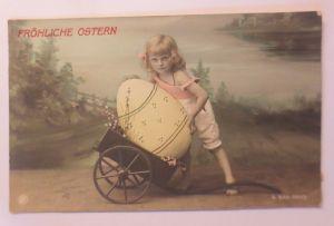 Ostern, Kinder, Mode, Osterei, Wagen,   1900 ♥ (71972)