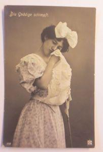 Frauen, Dienstmädchen, Die Gnädige schmimpft,    1909 ♥ (71962)