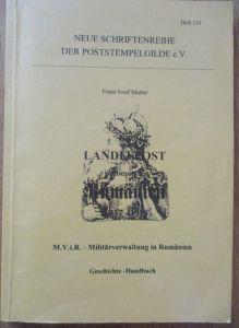 Militärverwaltung in Rumänien, F.J. Mutter 162 Seiten 1999