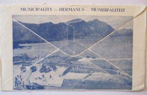 Südafrika, Hermanus for Health, Werbung Reklame 1952 (32567)