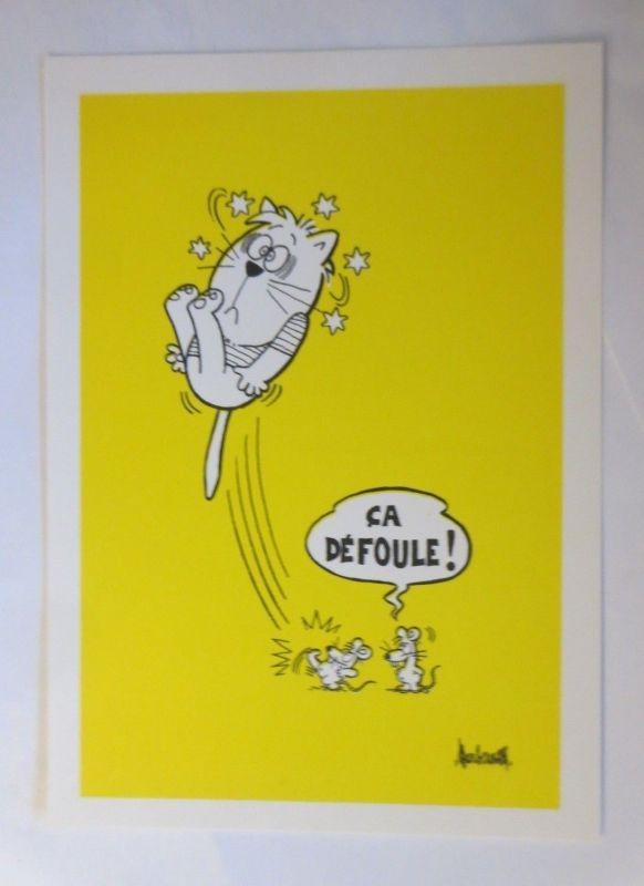 Katzen, Les Animaux de Barberousse,   1976 ♥ (71937)