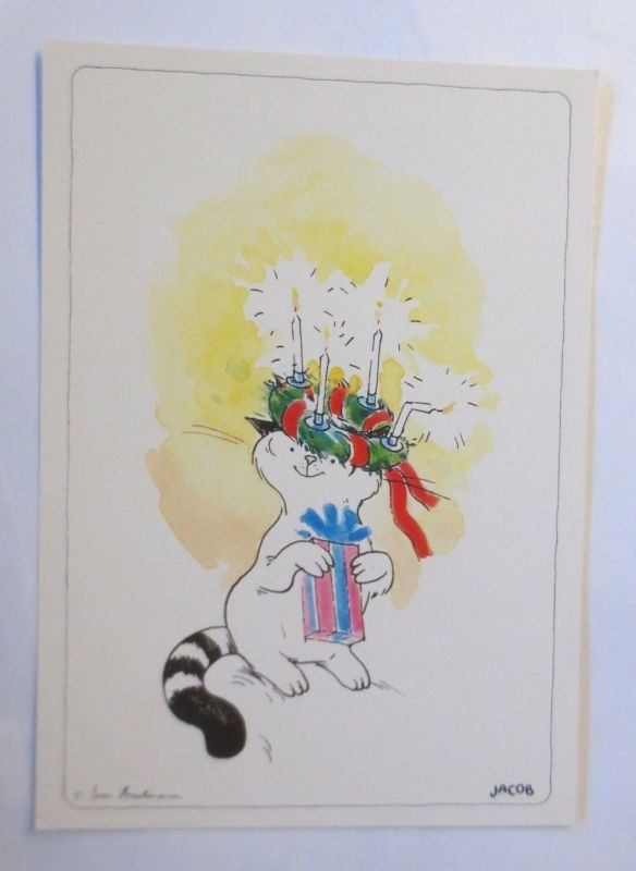 Cartoon, Jacob, Weihnachten, Sven Hartmann,  1984 ♥ (71821)