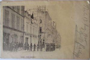 Paris, Belagerung Fort Chabrol, Staatsstreich, 1900 (25801)