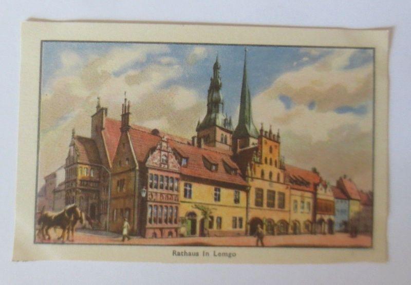 Teuta Margarine, Deutsche Rathäuser, Bild 2. Serie 7, in Lemgo ♥ (27471)