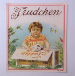 Oblaten, Katzen, Kinder, Mode, Trudchen,    1900,  11,5 cm x 10 cm  ♥ (66247)